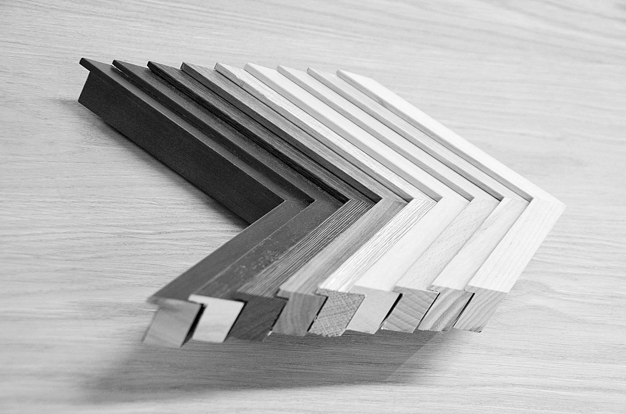 Neess encadrement atelier encadreur cadres sur-mesure style ancien contemporain bois aluminium plomb profil bois rue du page Châtelain Bruxelles